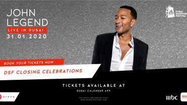 John Legend DSF Closing Celebrations